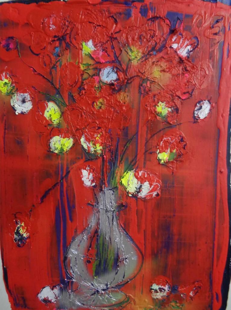 Flowers and Vase V