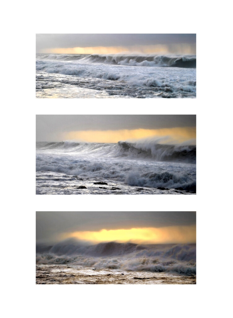 Triptych 2. Wave sequences